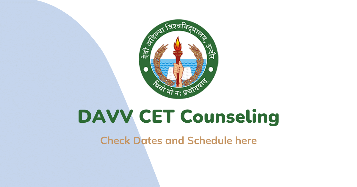 DAVV CET Counseling